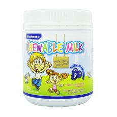 美可卓 蓝莓素牛奶护眼咀嚼片 300g Maxigenes Chewable Milk With Blueberry 150 Chewable Tablets