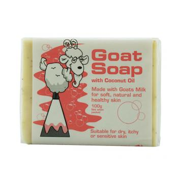 Goat 椰油羊奶皂 100g Goat Soap With Coconut Oil 100g