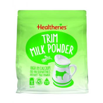 贺寿利 脱脂奶粉 1kg Healtheries Trim Milk Pow...