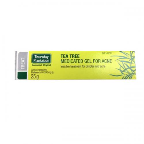 星期四农庄 茶树祛痘凝胶 25g Thursday Plantation Tea Tree Medicated Gel For Acne 25g