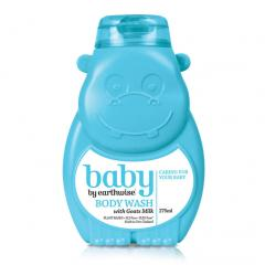 蓝色小河马 婴儿羊奶沐浴露 Earthwise Baby Body Wash with Goat's Milk 275ml