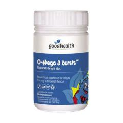 好健康 婴儿儿童鱼油DHA 120粒 Good Health Omega3 Bursts For Kids