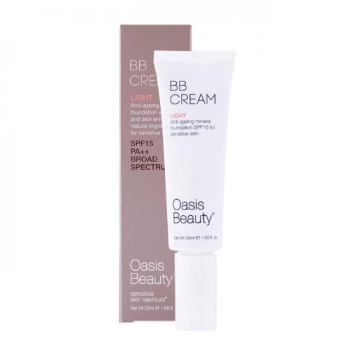 天然有机BB霜 孕妇可用 适合偏白肤色 50ml Oasis Beauty The Bardot Organic BB Cream 50ml